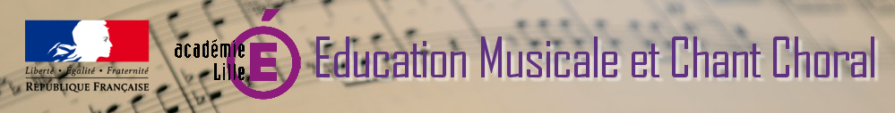 Site Education Musicale et Chant Choral